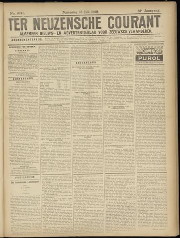 Ter Neuzensche Courant. Algemeen Nieuws- en Advertentieblad voor Zeeuwsch-Vlaanderen / Neuzensche Courant ... (idem) / (Algemeen) nieuws en advertentieblad voor Zeeuwsch-Vlaanderen 1928-07-16