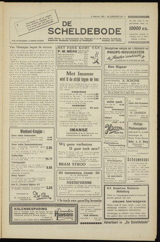 Scheldebode 1954-02-05