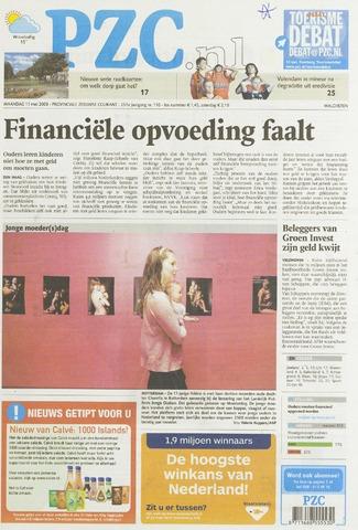 Provinciale Zeeuwse Courant 2009-05-11