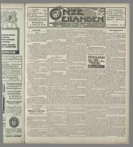 Onze Eilanden 1928