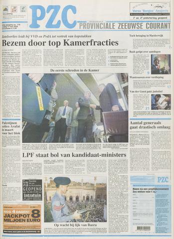 Provinciale Zeeuwse Courant 2002-05-17