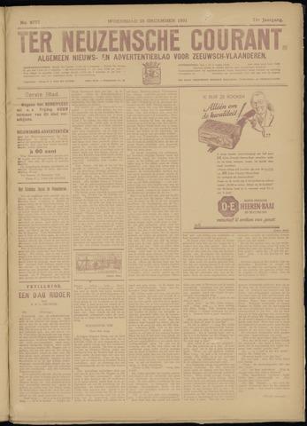 Ter Neuzensche Courant. Algemeen Nieuws- en Advertentieblad voor Zeeuwsch-Vlaanderen / Neuzensche Courant ... (idem) / (Algemeen) nieuws en advertentieblad voor Zeeuwsch-Vlaanderen 1931-12-23