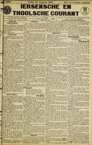 Ierseksche en Thoolsche Courant 1925-08-28