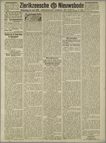 Zierikzeesche Nieuwsbode 1925-06-24