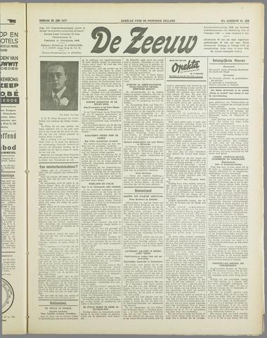 De Zeeuw. Christelijk-historisch nieuwsblad voor Zeeland 1937-06-29