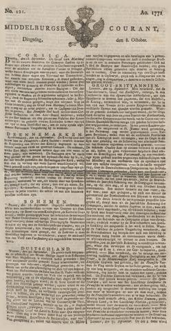 Middelburgsche Courant 1771-10-08