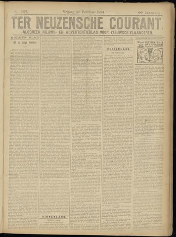 Ter Neuzensche Courant. Algemeen Nieuws- en Advertentieblad voor Zeeuwsch-Vlaanderen / Neuzensche Courant ... (idem) / (Algemeen) nieuws en advertentieblad voor Zeeuwsch-Vlaanderen 1924-02-29