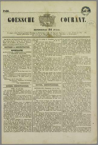 Goessche Courant 1851-07-24