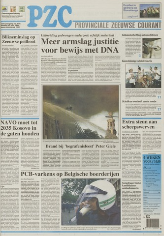 Provinciale Zeeuwse Courant 1999-06-22