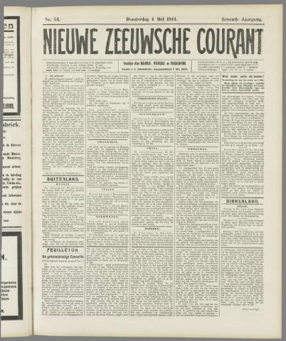 Nieuwe Zeeuwsche Courant 1911-05-04