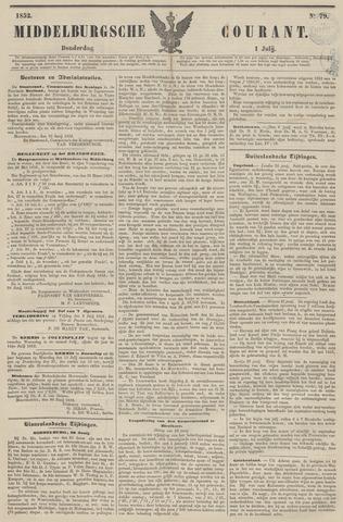 Middelburgsche Courant 1852-07-01