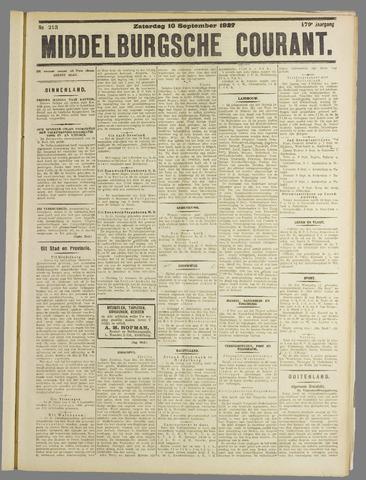 Middelburgsche Courant 1927-09-10