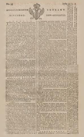 Middelburgsche Courant 1785-08-09