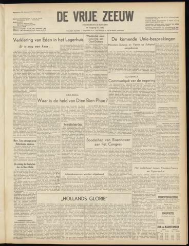 de Vrije Zeeuw 1954-06-24