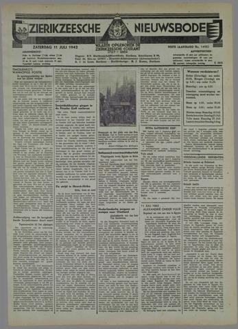 Zierikzeesche Nieuwsbode 1942-07-11