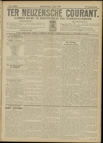 Ter Neuzensche Courant. Algemeen Nieuws- en Advertentieblad voor Zeeuwsch-Vlaanderen / Neuzensche Courant ... (idem) / (Algemeen) nieuws en advertentieblad voor Zeeuwsch-Vlaanderen 1915-07-01