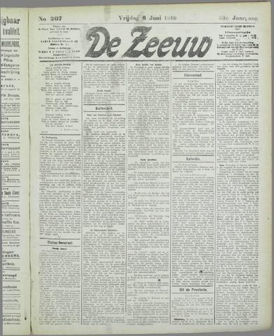 De Zeeuw. Christelijk-historisch nieuwsblad voor Zeeland 1919-06-06