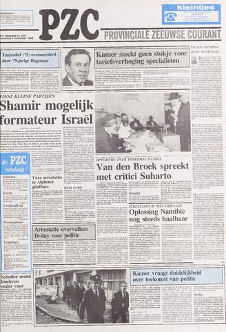 Provinciale Zeeuwse Courant 1988-11-02