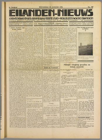 Eilanden-nieuws. Christelijk streekblad op gereformeerde grondslag 1936-01-29