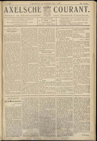 Axelsche Courant 1937-02-12