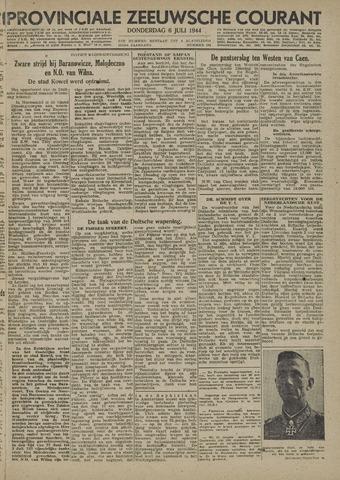 Provinciale Zeeuwse Courant 1944-07-06