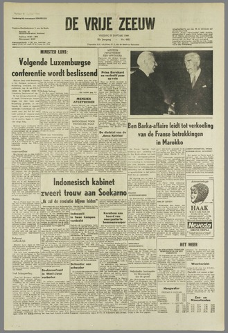 de Vrije Zeeuw 1966-01-21