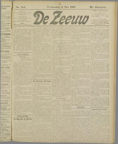 De Zeeuw. Christelijk-historisch nieuwsblad voor Zeeland 1917-05-09