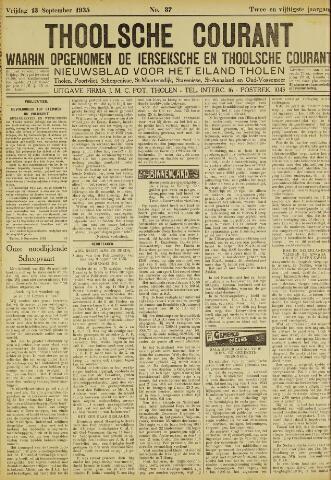 Ierseksche en Thoolsche Courant 1935-09-13