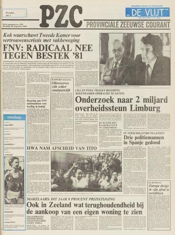 Provinciale Zeeuwse Courant 1978-08-29
