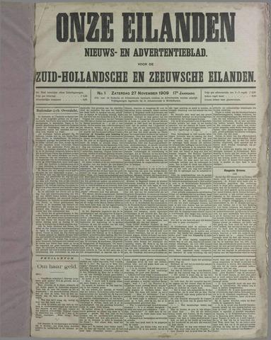 Onze Eilanden 1909