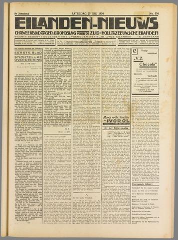 Eilanden-nieuws. Christelijk streekblad op gereformeerde grondslag 1936-07-25