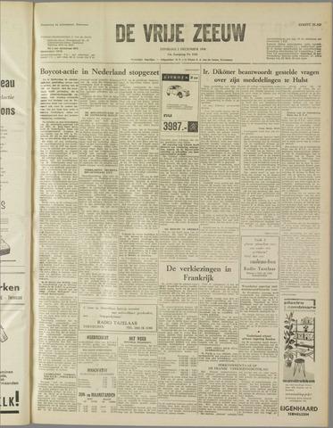 de Vrije Zeeuw 1958-12-02