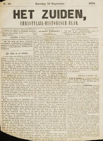 Het Zuiden, Christelijk-historisch blad 1876-09-23