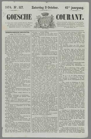 Goessche Courant 1874-10-03