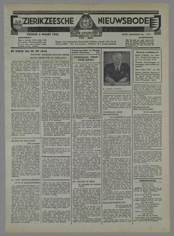 Zierikzeesche Nieuwsbode 1942-03-06