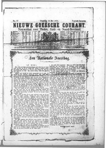 Nieuwe Goessche Courant 1874-05-12