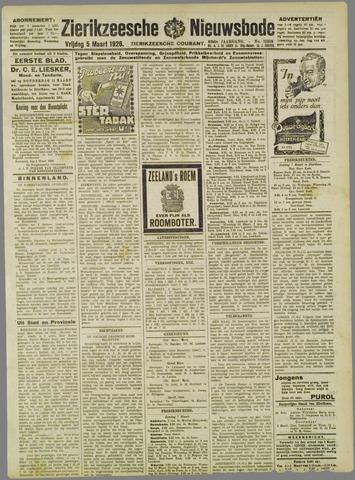 Zierikzeesche Nieuwsbode 1926-03-05