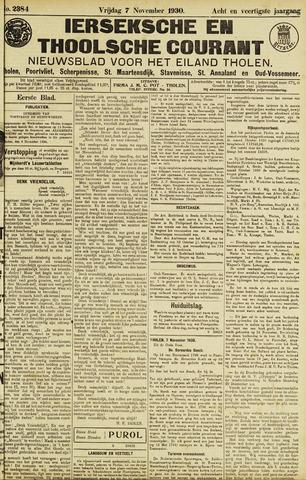 Ierseksche en Thoolsche Courant 1930-11-07
