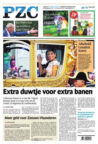Provinciale Zeeuwse Courant 2015-09-16