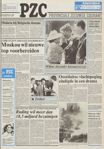Provinciale Zeeuwse Courant 1986-07-02