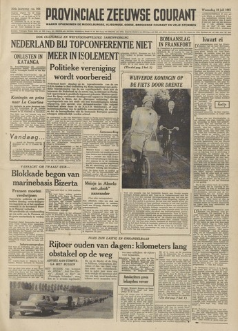 Provinciale Zeeuwse Courant 1961-07-19