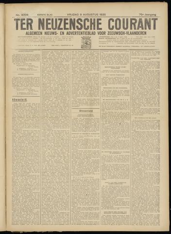 Ter Neuzensche Courant. Algemeen Nieuws- en Advertentieblad voor Zeeuwsch-Vlaanderen / Neuzensche Courant ... (idem) / (Algemeen) nieuws en advertentieblad voor Zeeuwsch-Vlaanderen 1935-08-09