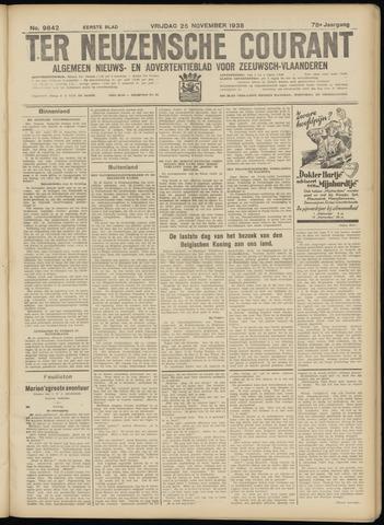 Ter Neuzensche Courant. Algemeen Nieuws- en Advertentieblad voor Zeeuwsch-Vlaanderen / Neuzensche Courant ... (idem) / (Algemeen) nieuws en advertentieblad voor Zeeuwsch-Vlaanderen 1938-11-25