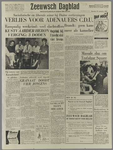 Zeeuwsch Dagblad 1961-09-18