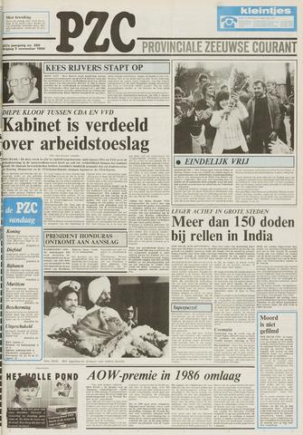 Provinciale Zeeuwse Courant 1984-11-02