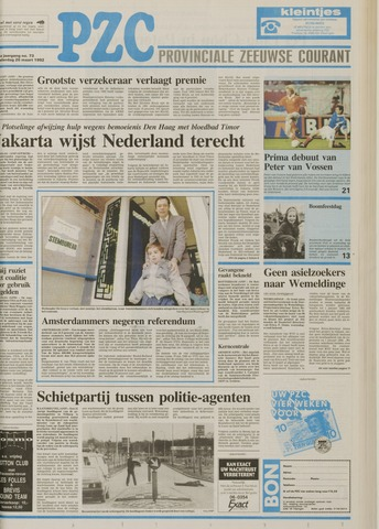 Provinciale Zeeuwse Courant 1992-03-26