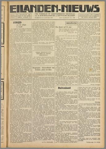 Eilanden-nieuws. Christelijk streekblad op gereformeerde grondslag 1949-01-22