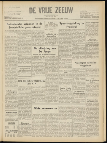 de Vrije Zeeuw 1953-05-28