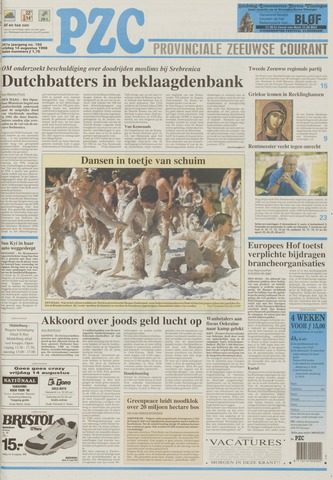 Provinciale Zeeuwse Courant 1998-08-14