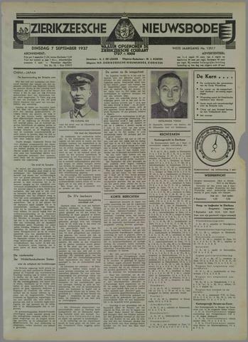 Zierikzeesche Nieuwsbode 1937-09-07